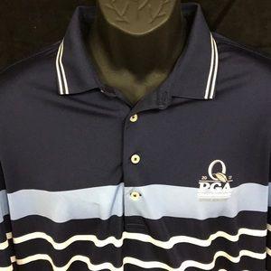 Quail Hollow Polo Golf moisture wicking polo.